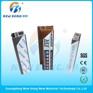 En PVC de couleur blanc crème des films de protection pour l'aluminium