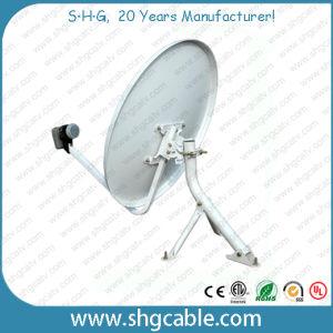 60cm banda Ku Prato da antena de satélite
