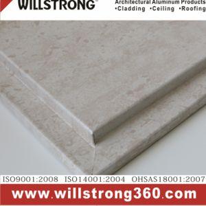 カーテン・ウォールのための石造りの正面のアルミニウム合成のパネル