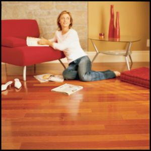 La norme E0 Engineered Jatoba le plancher en bois