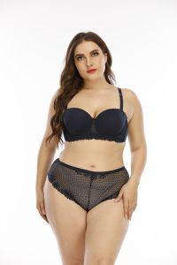 Senhoras Fashion Bra e meias Definir Conjunto de lingerie sexy com alça removível Senhoras roupas íntimas Senhoras lingerie sexy roupas íntimas Senhoras Meias Bra-Walmart/BSCI