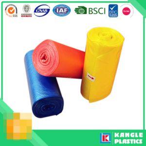 롤에 주문 처분할 수 있는 플라스틱 HDPE LDPE 쓰레기 봉지