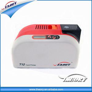 2018 Nueva impresora de tarjetas de ID Seaory T12 Máquina de impresión de tarjeta de plástico