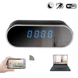 Home Security Wireless 1080P red p2p Mini alarma reloj digital IP WiFi cámara CCTV