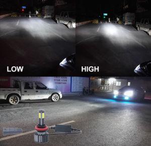 [إكس3] [س1] [غ4] 4 جوانب [لد] مصباح رئيسيّة مع سيارة [لد] ضوء