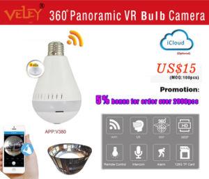 Китай 360 панорамными видами лампу беспроводной связи WiFi IP-камера