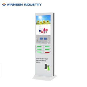 中国の工場販売の高品質の充電器LEDスクリーン空港充満端末