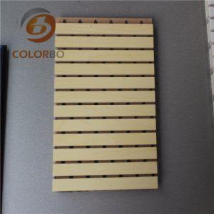 Contrôle du bruit acoustique de bois panneau en bois pour le cinéma/Home/Hall