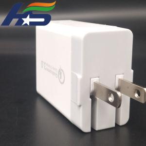 Хорошее решение на телефон QC 3.0 зарядное устройство USB 3 портами Fast поездки адаптер зарядного устройства