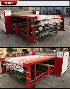 El ahorro de energía High-Power Rollo de lujo el calor de la máquina de prensa 1700UN