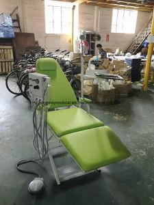 ランプおよび水流しの医療機器(SLV-D006)が付いている良質の病院のFoldable歯科椅子