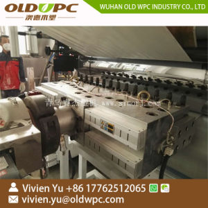 Spc/PVCのフロアーリング機械製造業者かSpcのフロアーリングの放出ライン