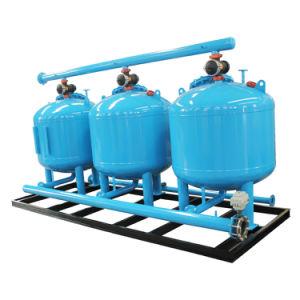 Filtro a sacco automatico del quarzo del flusso laterale per l'acqua della torre di raffreddamento