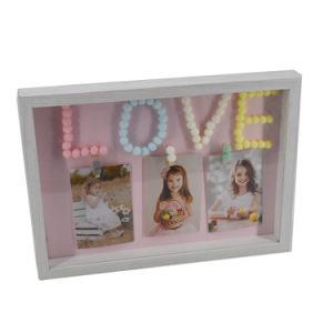 Bonitinha Amor Collage encaixar a moldura fotográfica Pampon Bebé