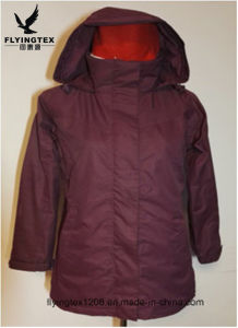 方法デザイン防水通気性の女性のウインドブレイカー及び冬の服装