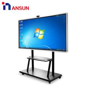 Bewegliches freistehendes androides Windows I3/I5/I7 interaktives Whiteboard Fingerspitzentablett LCD-IR WiFi