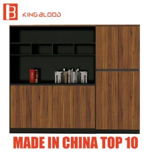 Acrílico de madera muebles estantería de acero Industrial