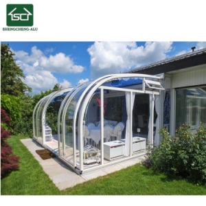 アルミニウムSunroomの保存性のポリカーボネートの庭部屋