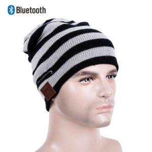 Nuevo mayorista inalámbrico Bluetooth Bluetooth invierno ejecutando Beanie Beanie sombreros