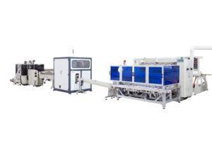 Separação de papel tecido Facial automática do separador Máquina máquina de lenços faciais