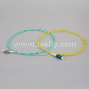 Одномодовый оптоволоконный кабель 0.9mm G652D LSZH LC/блок защиты и коммутации оптоволоконным кабелем