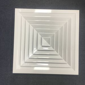 Quadratischer Decken-Luftauslass-Luft-Aluminiumdiffuser (Zerstäuber)