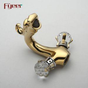 Tapkraan van de Draak van het Handvat van het kristal van Fyeer de Dubbele Gouden