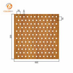 Qualitäts-Umweltschutz-hölzerne Bauholz-Akustik-Wand-schalldichte Vorstände