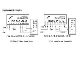 3kv isolamento PWM al convertitore corrente di tensione di CC