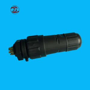 IP68はコネクター4 Pinの隔壁の防水コネクターを防水する