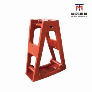 Gran parte mecánica de la base para el levantamiento de la maquinaria de elevación