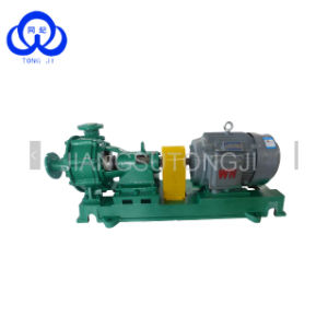 Pompa aspirante allineata FEP chimica della sabbia di processo del petrolio/pompa dei residui