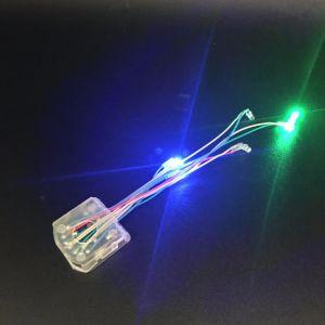 Nuovo indicatore luminoso della clip del pattino di disegno LED per la sola, lampada impermeabile delle coperture dell'ornamento