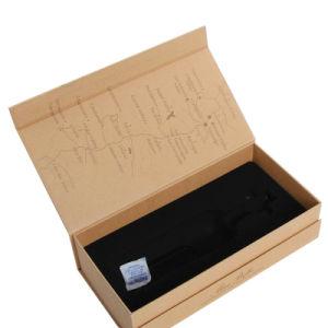 رفاهيّة عادة تصميم فرديّة مغنطيسيّة إغلاق ورق مقوّى ورقة [جفت بوإكس] [وين بوتّل] يعبر صندوق