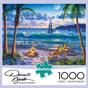 Giochi Darrell Bush - penombra litoranea - puzzle del puzzle delle 1000 parti