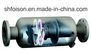 O vapor de água do gás de óleo do separador de líquidos
