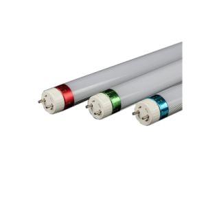 자전 엔드 캡을%s 가진 높은 빛난 효율성 160lm/W 18W 24W T8 LED 관 빛