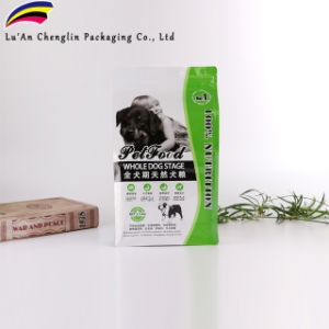 2.5Kg bolsas de embalaje de alimentos para perros con cremallera