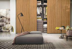 Festes Holz-Möbel-Fabrik-Tür-Haut-hölzerne Wand
