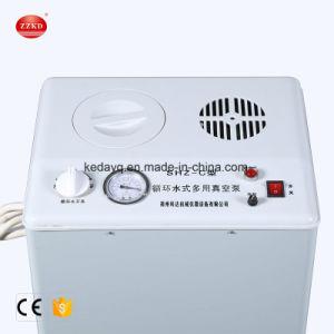 Équipement de laboratoire de l'eau circulant sur la vente de la pompe à vide