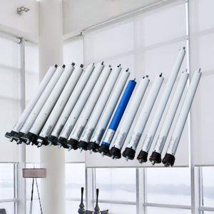 Cilindro de Controle Remoto 35mm persianas Vidros tubulares