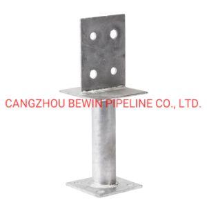 L FORMULAIRE D'ANCRAGE Electro-Galvanized Poteau métallique