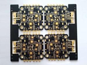 6 Camadas espessas elevados de TG imersão cobre Hdipcb Board-Matte Ouro Preto