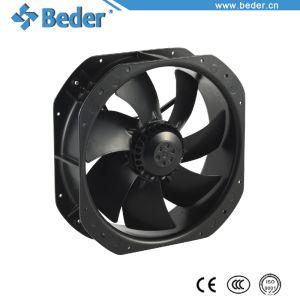 225x225x80mm Ventilación Refrigeración Ventilador Axial de CA con hojas de metal 5/9