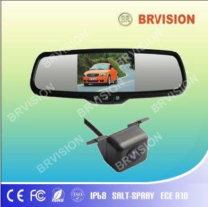 Carro de 4,3 polegadas Espelho Reverso Sistema de visualização traseira do monitor