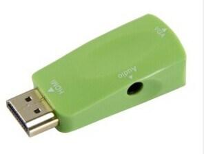 HDMI to VGA Female+Audio Adapter/Converter