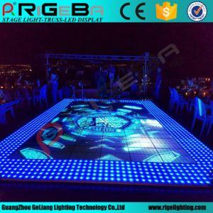 P10 LED al aire libre de vídeo de la etapa de la luz de la pista de baile