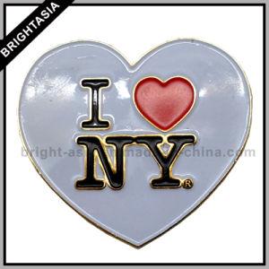 I Loveニューヨーク(BYH-10520)のためのEnamelカスタムLapel Pin