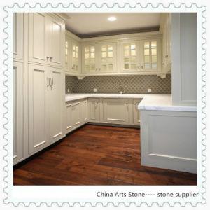 chinois pour la cuisine de comptoir en marbre blanc