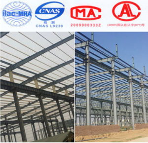 Proyectos de construcción, construcción de metal prefabricado Industrial Estructura de acero de la luz